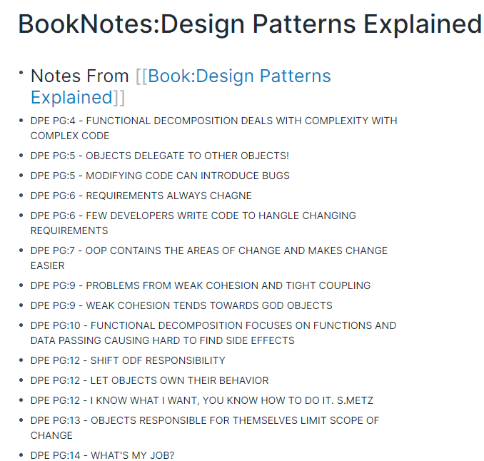 Design Pattern Explained untagged Notes