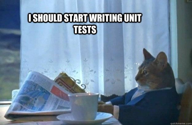 My Thoughts: Unit Tests